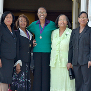 Wesleyan honors five alumnae who broke color barrier