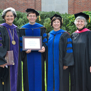 James B. Ferrari wins Distinguished Teaching award