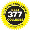 Princeton Review gives Wesleyan High Praise