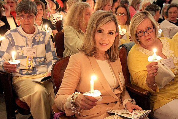 candle lighting alumnae weekend