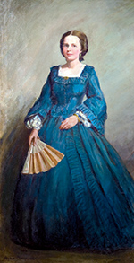 PortraitOfALadyInABlueDress