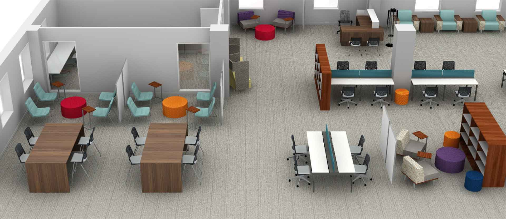 Illustration on new library plans