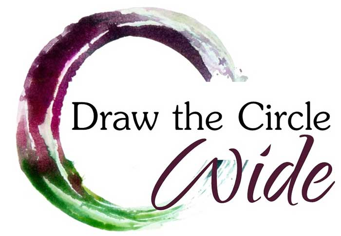 Draw the Circle wide logo artwork
